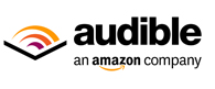 Audible Logo - White